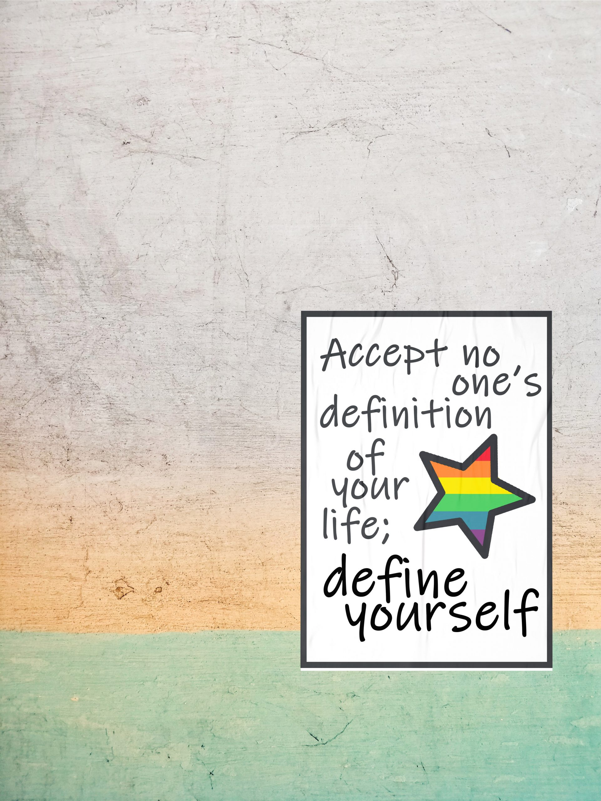 Define Yourself Poster Download
