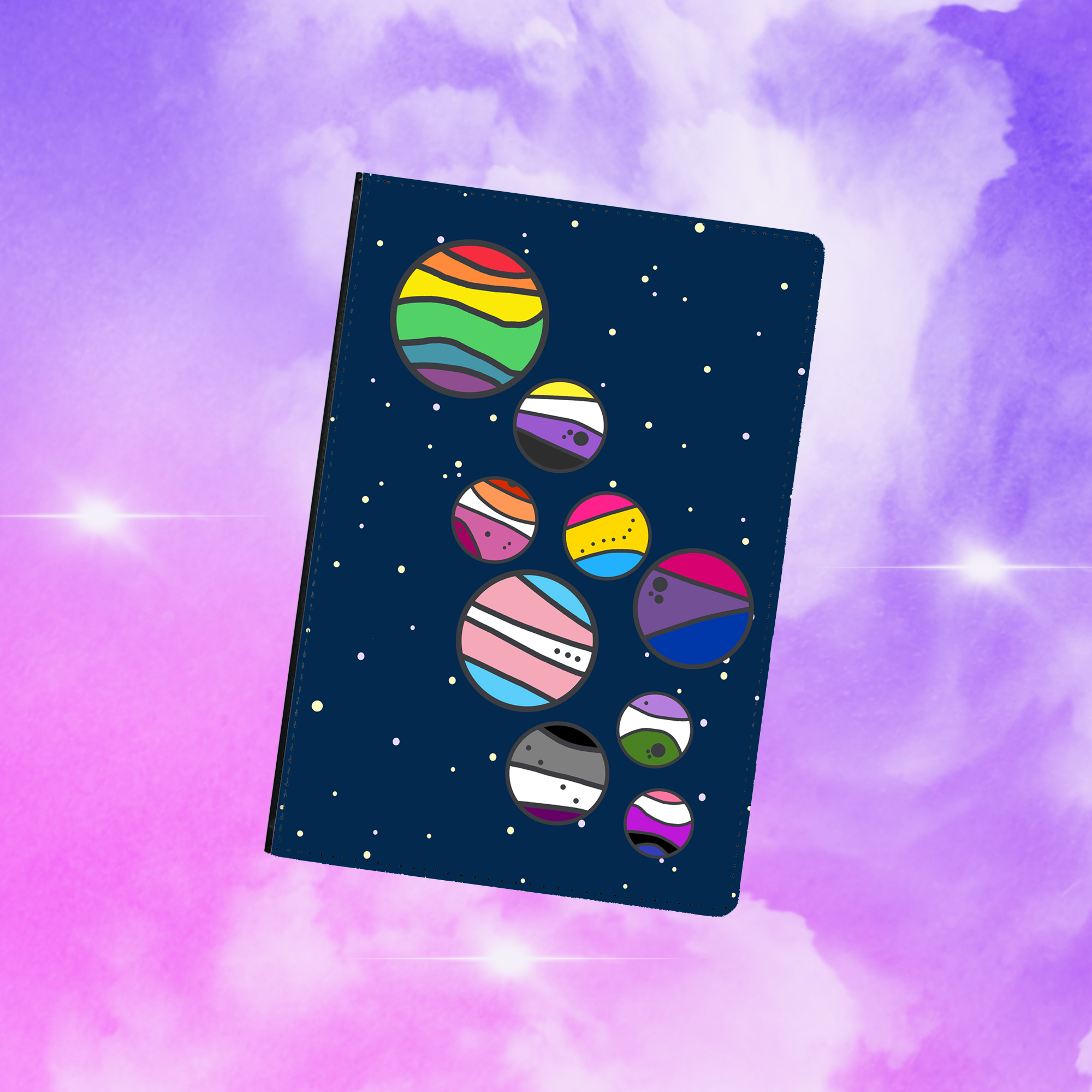 Space Is Gay Refillable Journal
