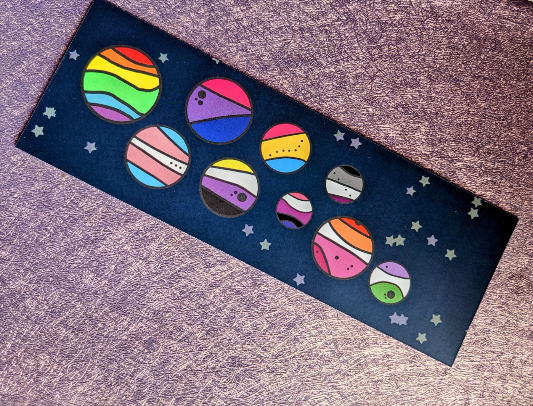 Space Is Gay Bookmarks